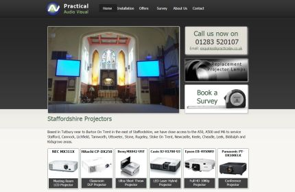 Staffordshire Projectors